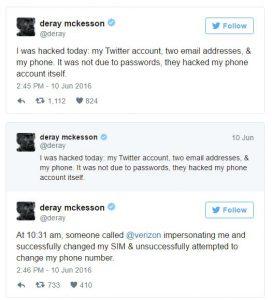 DeRay McKesson's twitter