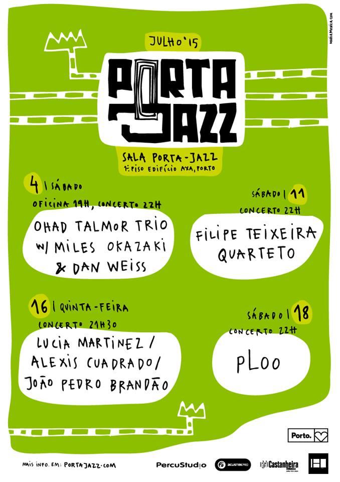 Cartaz Porta-Jazz Julho
