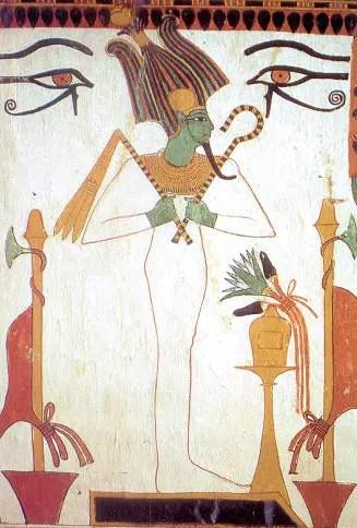Osiris portant les insignes du pouvoir