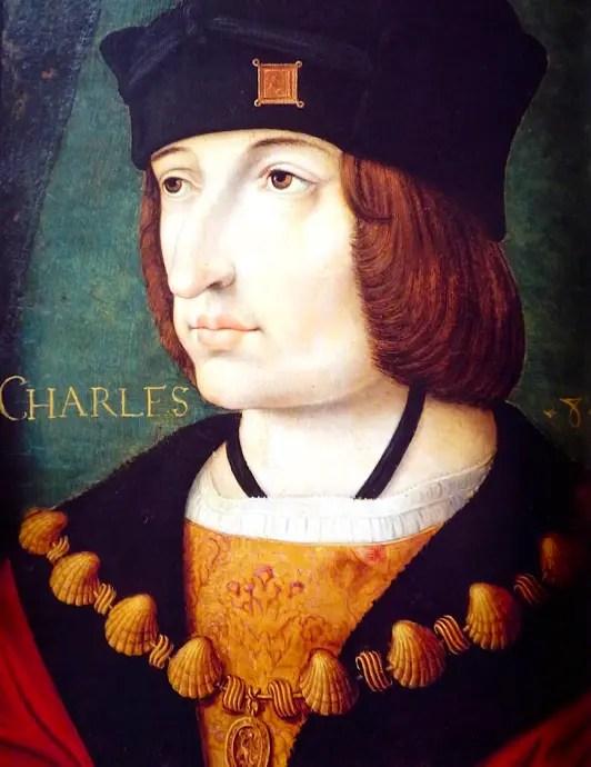 Portrait de Charles VIII d'après Jean Péréal, XVIème siècle