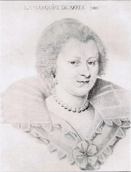 Madeleine de Souvré, marquise de Sablé (gravure)