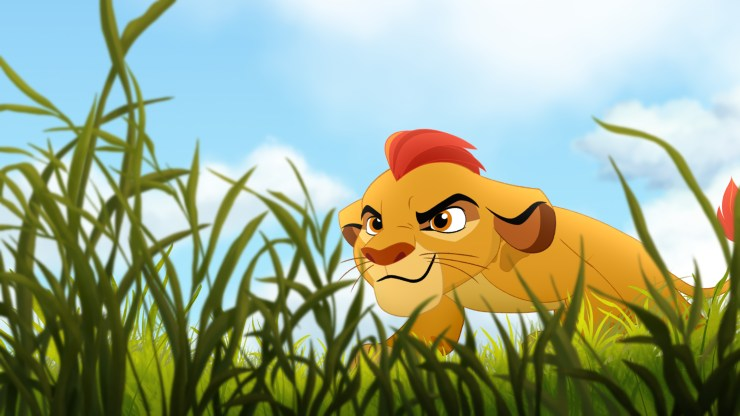 "THE LION GUARD - Disney Television Animation has begun production on ""The Lion Guard,"" an animated television movie and series that continues the story introduced 20 years ago in the acclaimed Disney animated film ""The Lion King."" Geared towards kids aged 2-7 and their families, ""The Lion Guard"" television movie will premiere in fall 2015 and the subsequent series will debut in early 2016 on Disney Junior and Disney Channel. (DISNEY JUNIOR) KION"