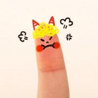 怒った指2
