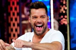 Ricky Martin Attends 'El Hormiguero' Tv Show