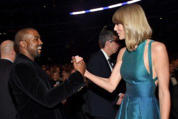 Kanye West. Taylor Swift. Kim Kardashian. Famous. Mural. Cúsica Plus