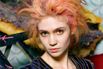 Grimes junto a su colaboradora Hana revelan 7 nuevos videos. Cúsica Plus