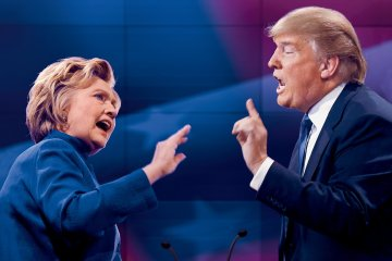 Hillary Clinton. Donald Trump. Último Debate Presidencial. Estados Unidos. Reaccionan los artistas. Cúsica Plus