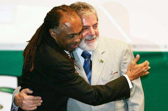 Gilberto Gil . Lula Da Silva