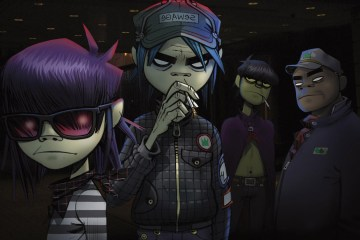 Gorillaz. The Book of Noodle. Historieta Multimedia. Cúsica Plus