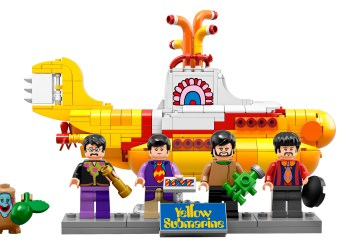 Lego lanza un nuevo set de bloques armables inspirado en 'Yellow Submarine' de The Beatles. Cúsica Plus