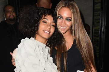 Solange es entrevistada por su hermana Beyoncé para la revista Interview. Cusica Plus