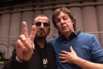 Paul McCartney y Ringo Starr graban juntos en estudio. Cusica plus