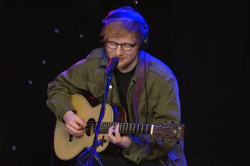 "Mira a Ed Sheeran versionar a 50Cent, Coldplay y el tema ""No Diggity"". Cusica plus"
