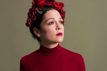 Natalia La Fourcade trabaja en 'Musas'