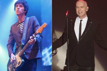 Johnny Marr se presentó junto a los Pet Shop Boys. Cusica plus