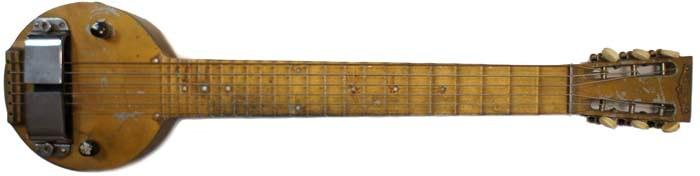 Primera guitarra eléctrica