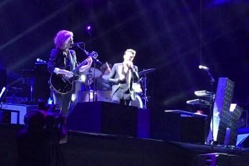 Escucha a The Killers versionando a The Smashing Pumpkins y Muse en Lollapalooza. Cusica Plus.
