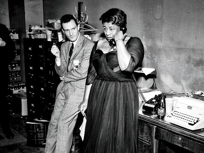 Ella Fitzgerald y Hugh Hefner