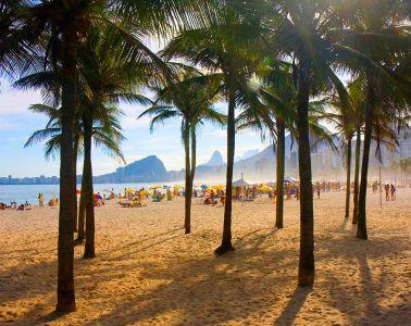 Brazil. Copacabana Beach
