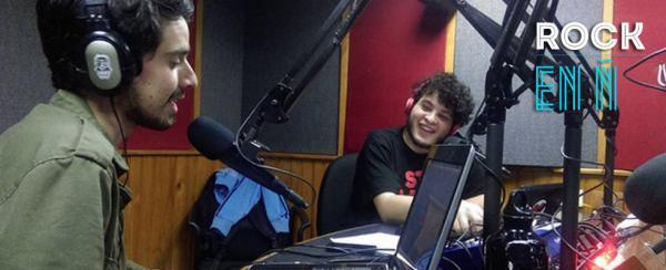 Rock en Ñ, uno de los pocos programas de radio dedicados al talento nacional que quedan en Caracas.