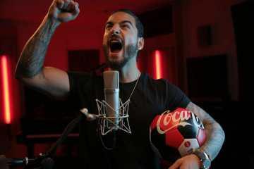 Coca Cola comparte las versiones de Maluma y Jason Derulo del tema del mundial. Cusica Plus.