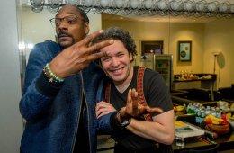 Snoop Dogg y Gustavo Dudamel compartieron juntos en el Hollywood Bowl. Cusica Plus.