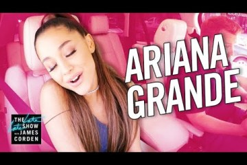 Ve el nuevo Carpool Karaoke de James Corden con Ariana Grande. Cusica Plus.
