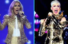 Katy Perry comparte video tras bastidores con Celine Dion. Cusica Plus.