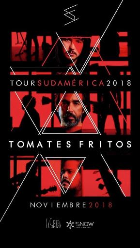 Tomates Fritos Tour Flyer