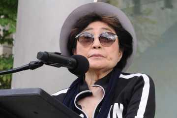 "Yoko Ono publicó una versión de ""Imagine"" de John Lennon. Cusica Plus."