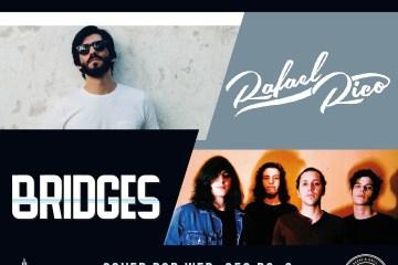 Rafa Rico y Bridges llegará a Cusica Live para llenar la noche de Indie y Folk. Cusica Plus.