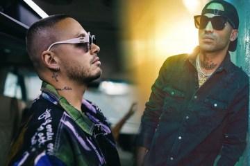"""Arcangel y JBalvin viajan a la época disco en el video """"Corte, porte y elegancia"""". Cusica Plus."""