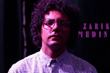 """Zarik Medina muestra videoclip de su tema """"Caer"""". Cusica Plus."""