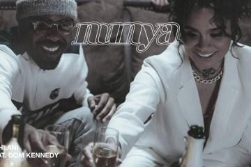 "Kehlani comparte su nuevo tema ""Nunya"" junto a Dom Kennedy. Cusica Plus."