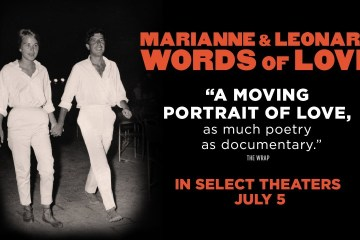 Publican primer trailer del documental de Leonard Cohen 'Marianne & Leonard: Words Of Live'. Cusica Plus.