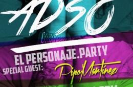 Adso llegará con 'El Personaje Party' a Cusica Live el viernes. Cusica Plus.