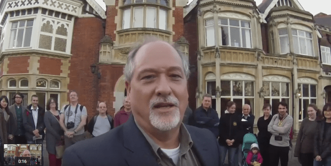 Office Hours with Dr Chuck at Bletchley Park