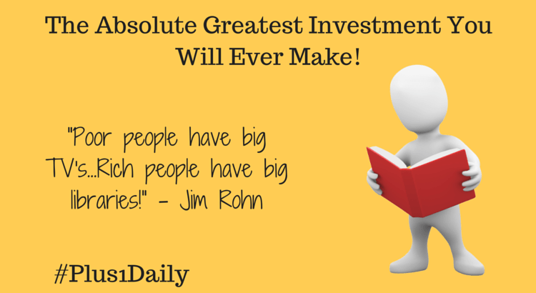 The Absolute Greatest Investment You Will Ever Make!
