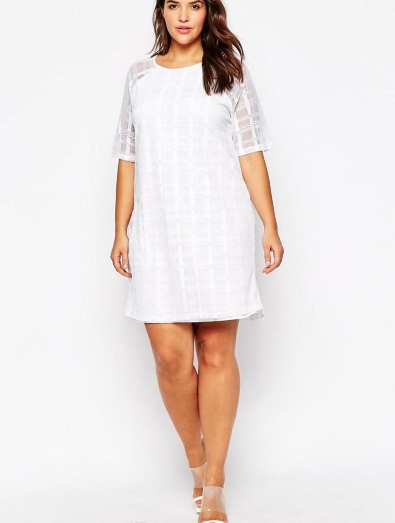Large Of Plus Size White Dresses