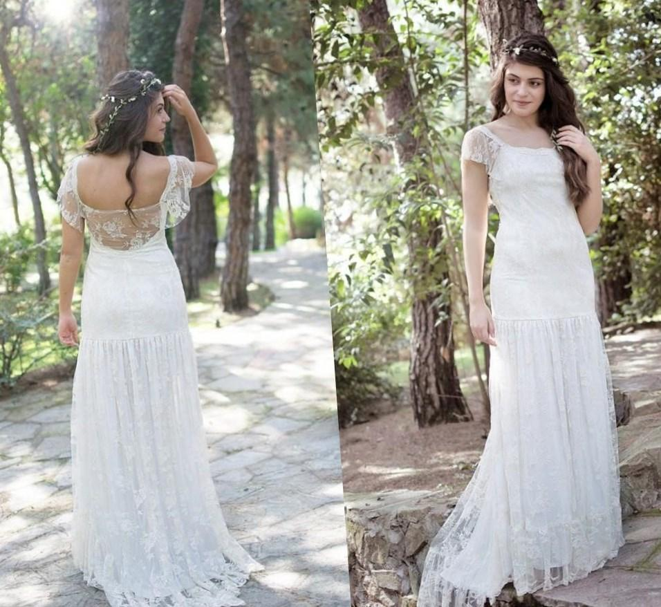 plus wedding dresses cheap boho wedding dresses beach plus size short wedding dresses sheer real image lace tulle bridal ball gowns a