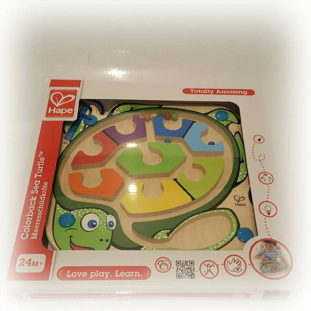 A review of the Wicked Uncle present service - sea turtle puzzle