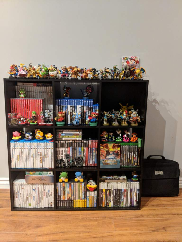 Creative Very Proud Amiibo My Switch Collection Isgrowing My Video Game Nintendo Amino This Video Game Shelf That I Put Toger A Few I Went A Bit Over Board houzz-03 Video Game Shelf