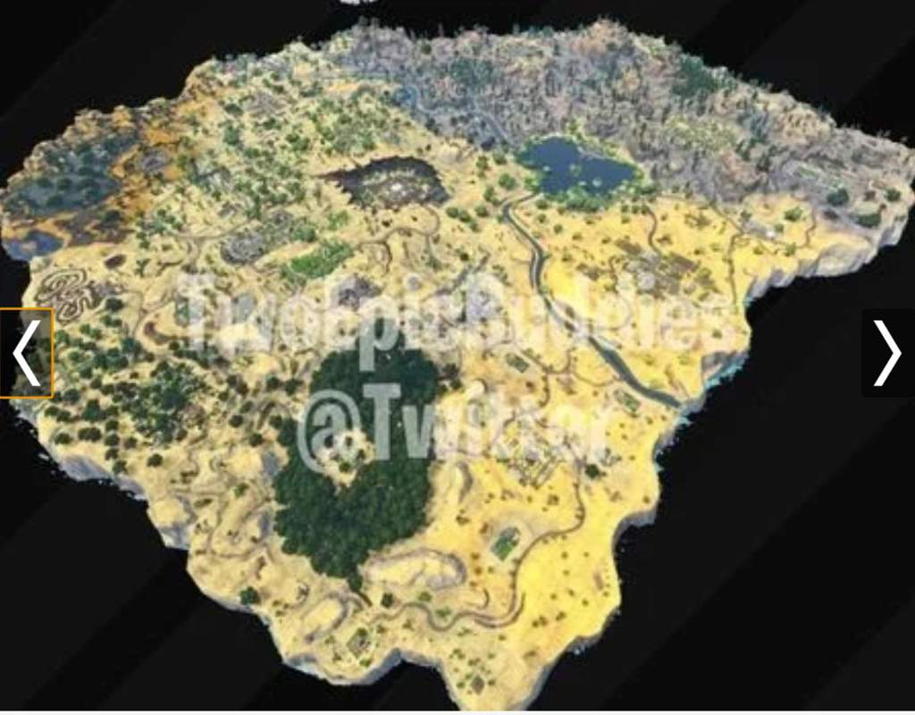 Season 5 Stuff   Map   Fortnite  Battle Royale Armory Amino He is a fortnite leaker  Well today   or yesterday idk   he posted a video  on the fortnite season 5 map that may be coming  Here is a picture of it