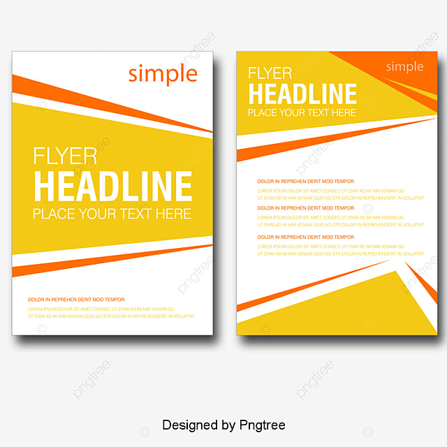 Vector Exquisite Single page Flyer Design Material  Beautifully     vector exquisite single page flyer design material  Beautifully Single  Page  Flyer Design