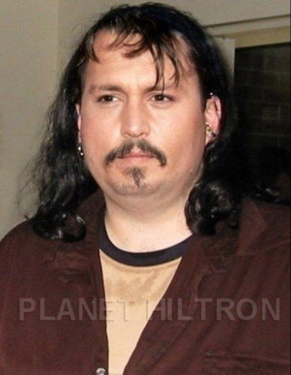Джони Деп като барабанист