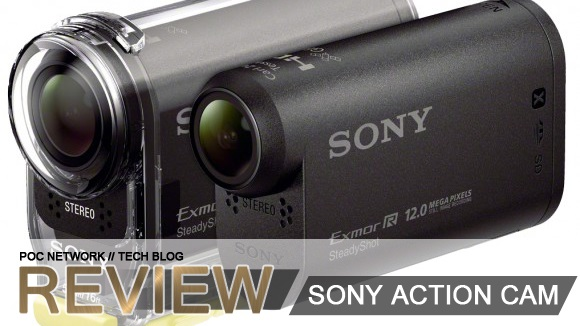 Review: Sony Action Cam with WiFi, NFC and GPS HDR-AS30V
