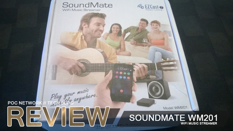Review: SoundMate WM201 WiFi Music Receiver by Uyesee