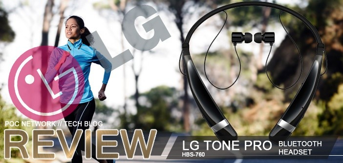 Review: LG TONE PRO wireless Bluetooth headset (HBS-760)