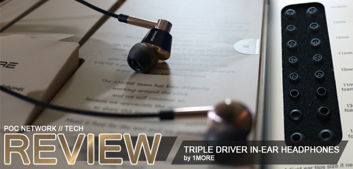 Review: 1MORE Triple-Driver In-Ear Monitor Headphones