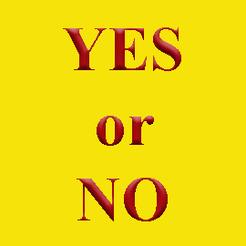 yes-or-no